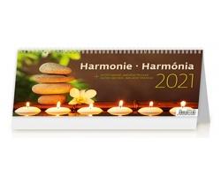 Stolní kalendář Harmonie/Harmónia 2021