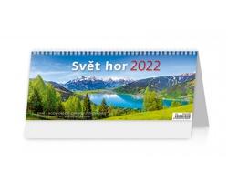 Stolní kalendář Svět hor 2022