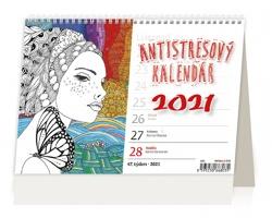 Stolní kalendář Antistresový pracovní 2021