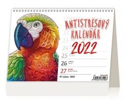 Stolní kalendář Antistresový pracovní 2022