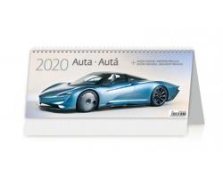 Stolní kalendář Auta / Autá 2020