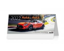 Stolní kalendář Auta/Autá 2022
