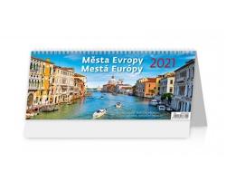 Stolní kalendář Města Evropy/Mestá Európy 2021