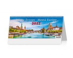 Stolní kalendář Města Evropy/Mestá Európy 2022