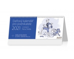 Stolní kalendář Daňový pro podnikatele 2021