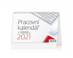 Stolní kalendář Pracovní kalendář 2021