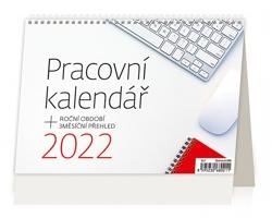 Stolní kalendář Pracovní kalendář 2022