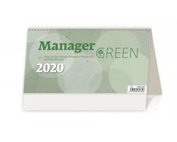Stolní kalendář Manager Green 2020