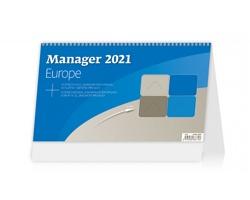 Stolní kalendář Manager Europe 2021
