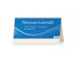Stolní kalendář Plánovací 2020 - modrý