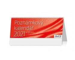 Stolní kalendář Poznámkový OFFICE 2021