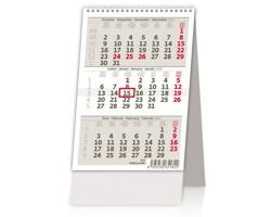Stolní kalendář Tříměsíční / Trojmesačný 2020 - Mini