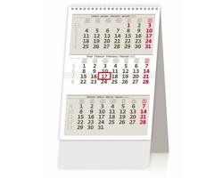 Stolní kalendář tříměsíční kalendář/trojmesačný kalendár 2021 - Mini