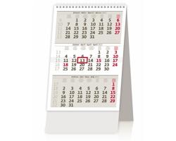 Stolní kalendář tříměsíční MINI 2022