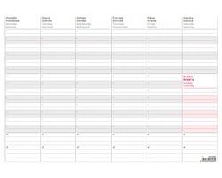 Stolní týdenní plánovací mapa A3+ 2021