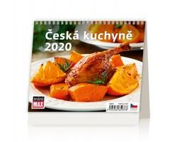 Stolní kalendář Česká kuchyně 2020 - MiniMax