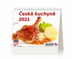 Stolní kalendář Česká kuchyně 2021 - MiniMax