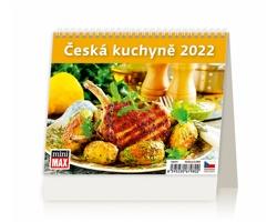 Stolní kalendář Česká kuchyně 2022 - MiniMax