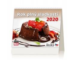 Stolní kalendář Rok plný sladkostí ČR 2020 - MiniMax