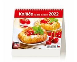 Stolní kalendář Koláče sladké a slané 2022 - MiniMax