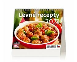Stolní kalendář Levné recepty ČR 2021 - MiniMax