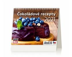 Stolní kalendář Čokoládové recepty 2021 - MiniMax