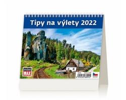 Stolní kalendář Tipy na výlety 2022 - MiniMax