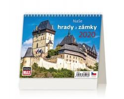 Stolní kalendář Naše hrady a zámky 2020 - MiniMax