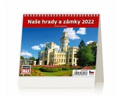 Stolní kalendář Naše hrady a zámky 2022 - MiniMax