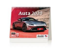 Stolní kalendář Auta 2020 - MiniMax