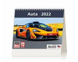 Stolní kalendář Auta 2022 - MiniMax