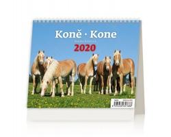 Stolní kalendář Koně / Kone 2020 - MiniMax