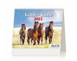 Stolní kalendář Koně/Kone 2021 - MiniMax