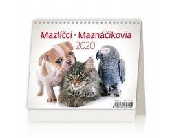 Stolní kalendář Mazlíčci / Maznáčikovia 2020 - MiniMax