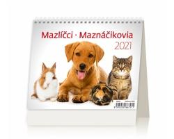 Stolní kalendář Mazlíčci/Maznáčikovia 2021 - MiniMax