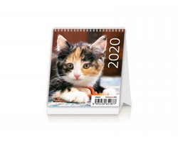 Stolní kalendář Kittens 2020 - Mini