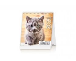 Stolní kalendář Kittens 2021 - Mini