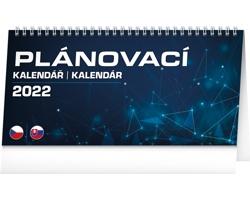 Stolní kalendář Plánovací 2022 - česko-slovenský