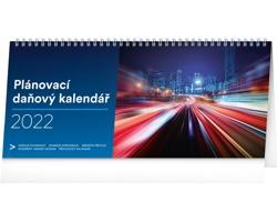 Stolní kalendář Plánovací daňový 2022