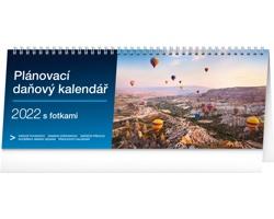 Stolní kalendář Plánovací daňový s fotkami 2022