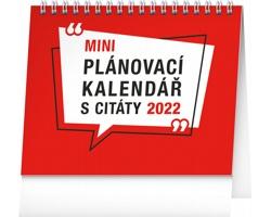 Stolní kalendář Plánovací s citáty 2022