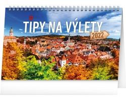 Stolní kalendář Tipy na výlety 2022