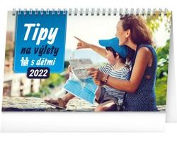 Stolní kalendář Tipy na výlety s dětmi 2022