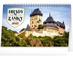 Stolní kalendář Hrady a zámky 2022