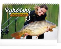 Stolní kalendář Rybářský 2022
