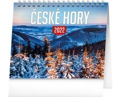 Stolní kalendář České hory 2022