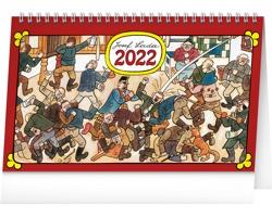 Stolní kalendář Josef Lada - Na vsi 2022