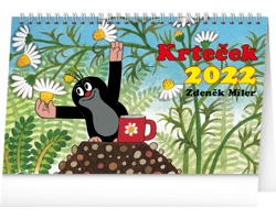 Stolní kalendář Krteček 2022