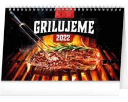 Stolní kalendář Grilujeme 2022