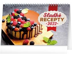 Stolní kalendář Sladké recepty 2022